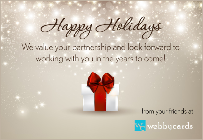 Happy holidays ecard business boatremyeaton happy holidays ecard business m4hsunfo