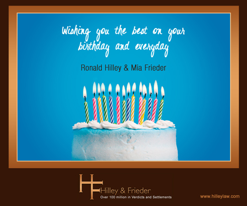 Static Birthday E Card