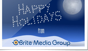 Brite Media Group Holiday e-Card