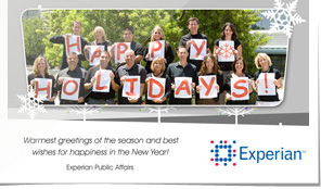 Experian Corporate Holiday eCard