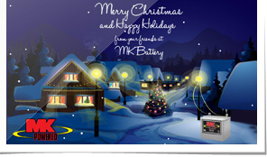 MK Battery Holiday e-Card