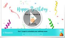 Corporate Birthday E Card PEDIATRIC ASSOCIATES