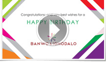 FEATURED CORPORATE BIRTHDAY E CARDS Animated Birthday ECard